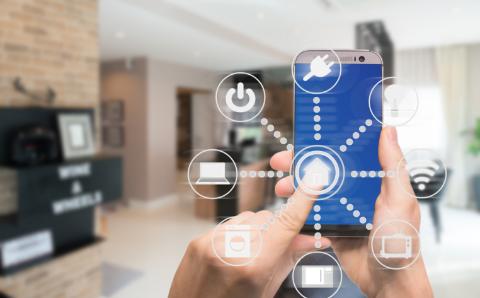IoT住宅のイメージ