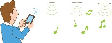 ワイヤレス接続 イラスト イメージ