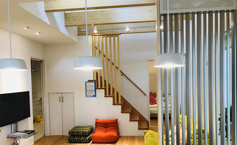 「ECOWIN HYBRID」を導入した住宅(屋内)