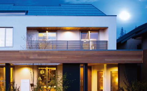 「SI SOLAR ZERO」を導入した住宅